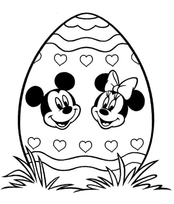 voir le dessin - Coloriage Mickey Imprimer Gratuit