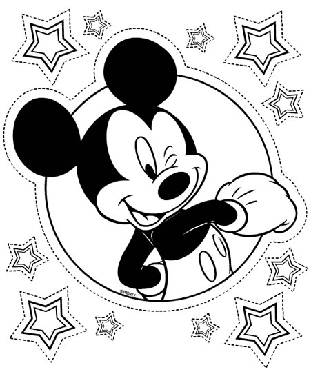 jeux coloriage mickey minnie