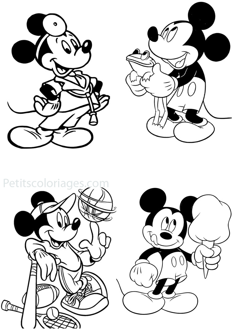 Jeux de coloriage de micket minnie 30000 collections de pages colorier imprimables - Minnie jeux gratuit ...