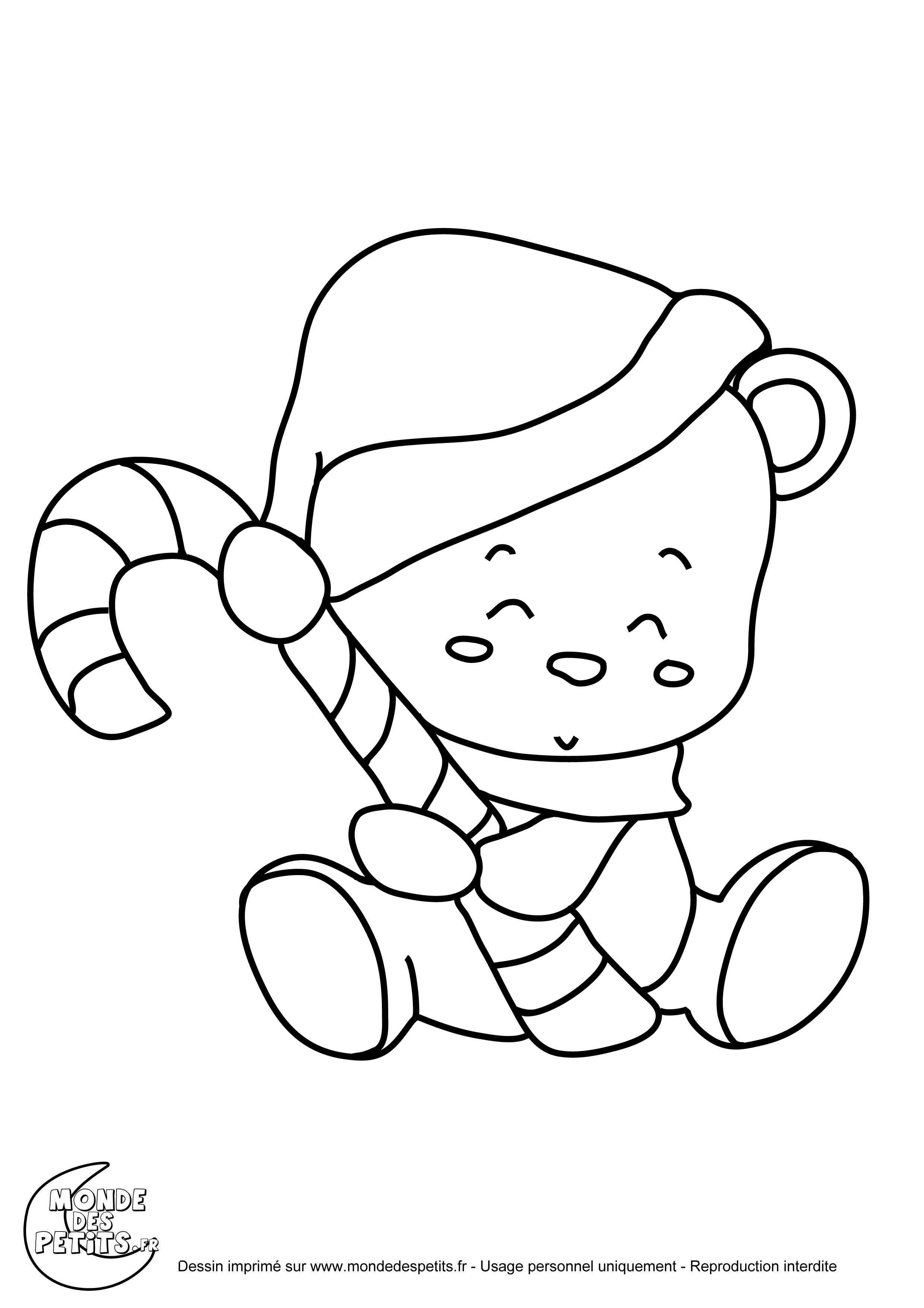 dessin à colorier animaux trop mignon