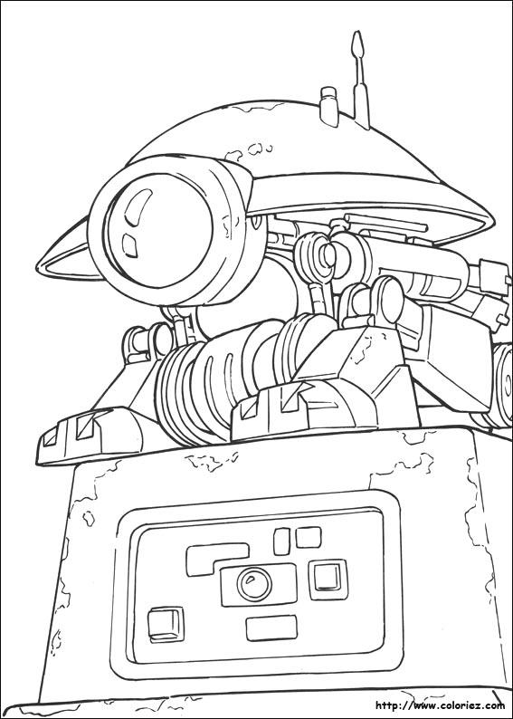 coloriage à dessiner lampe de mineur