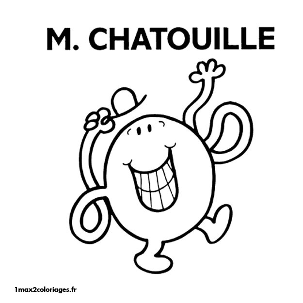 Coloriage monsieur et madame patate - Coloriage mr mme ...