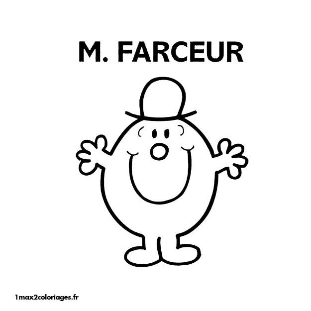 dessin monsieur madame bonhomme