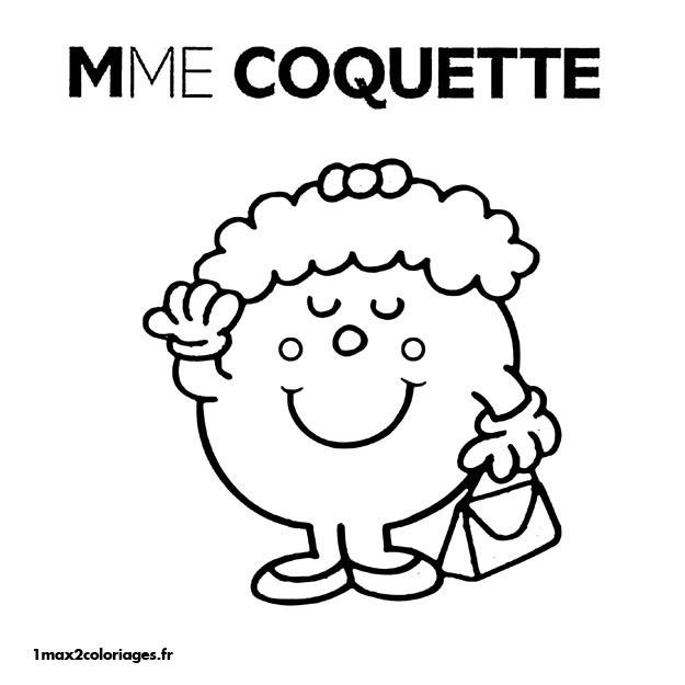 dessin monsieur madame en ligne gratuit