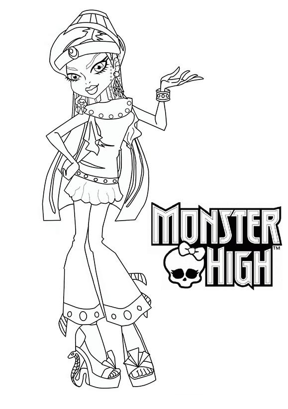 Coloriage animaux monster high a imprimer meilleures - Buzz a colorier ...