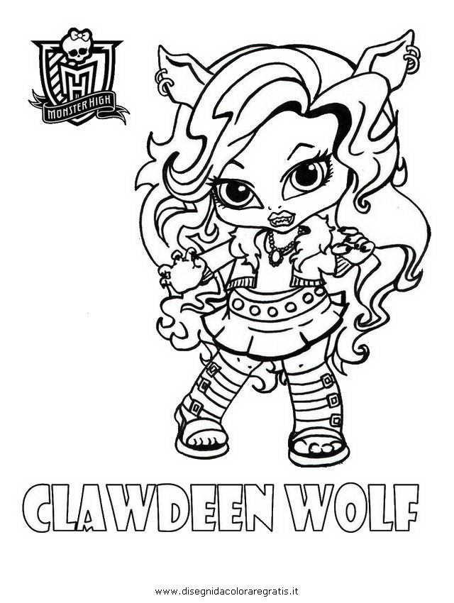 Coloriage monster high b b imprimer - Coloriage monster high baby ...