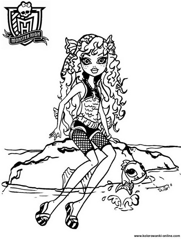 coloriage monster high 13 wishes