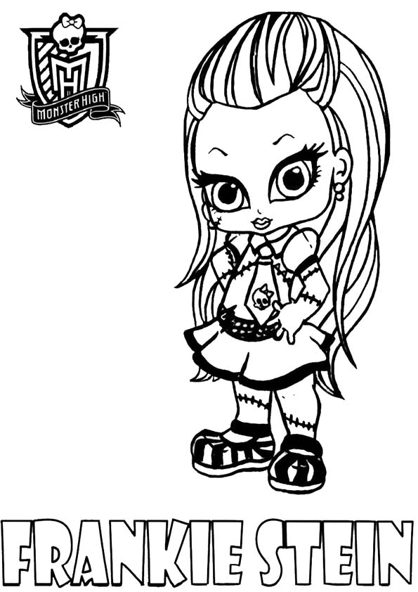 coloriage monster high spectra