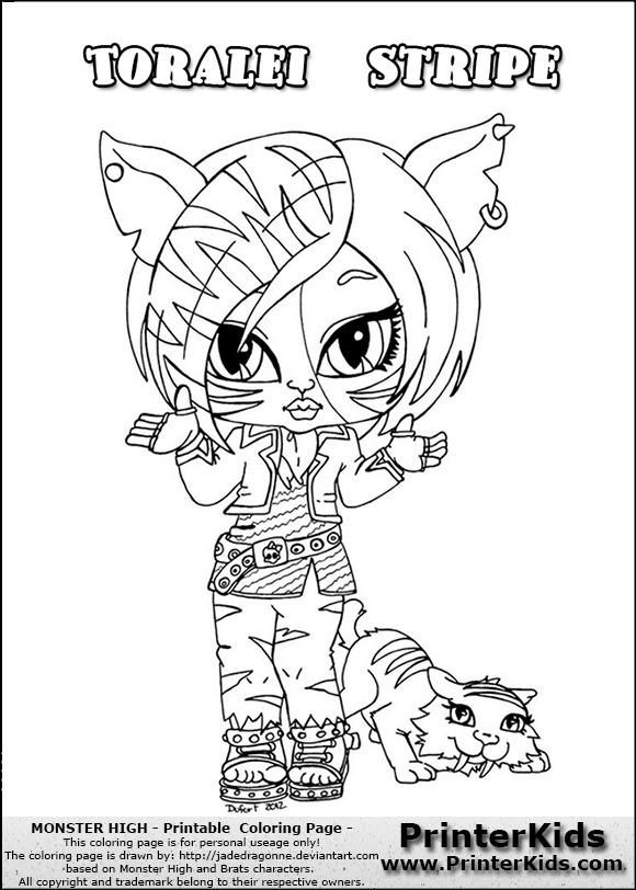 coloriage monster high site