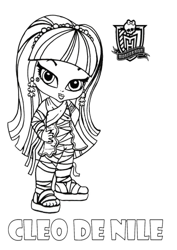 1000 coloriage de monster high
