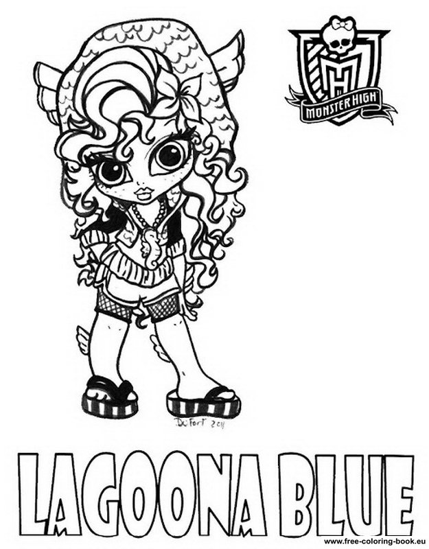 jeux gratuit coloriage monster high