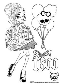 jeux coloriage monster high