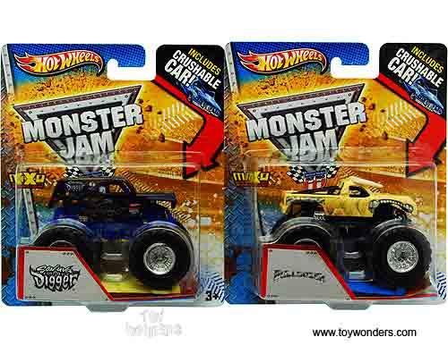 dessin monster truck grave digger