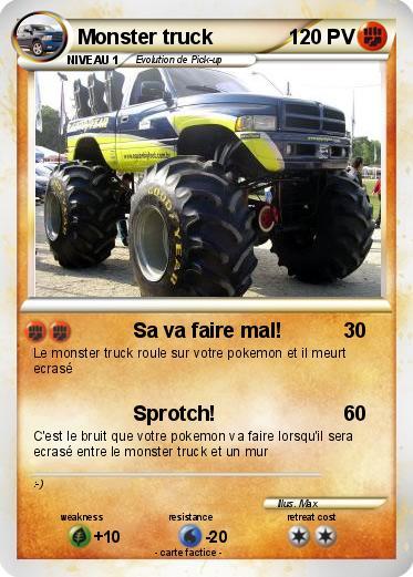dessin monster truck gratuit