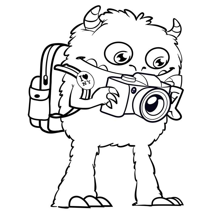 Coloriage dessiner monstre et compagnie gratuit - Dessin de monstre et compagnie ...