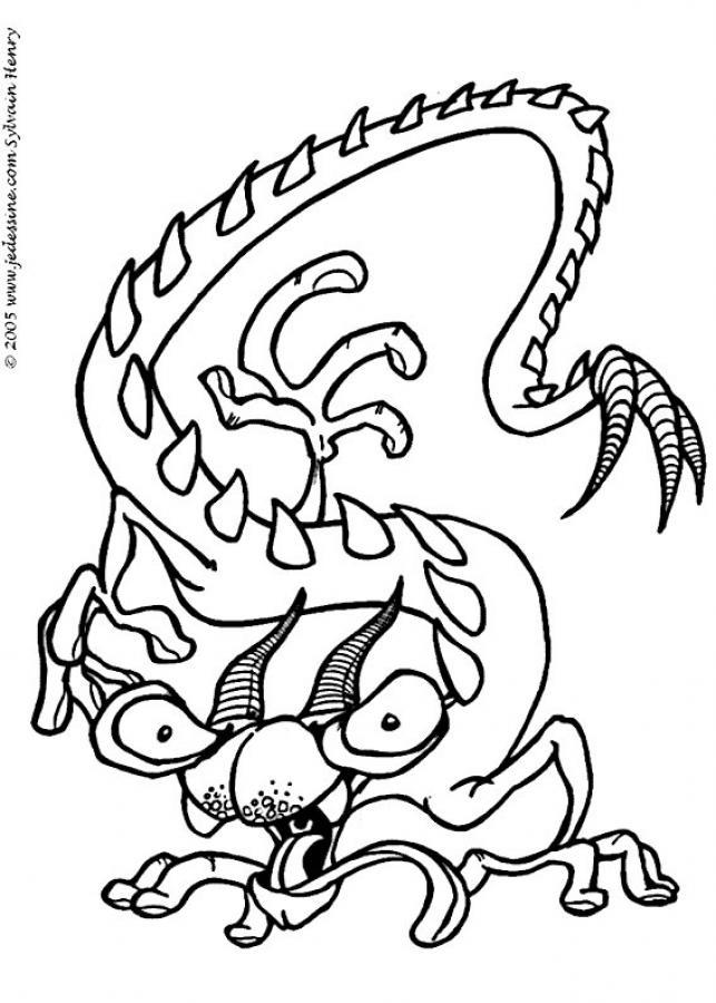 Dessin monstres et compagnie a imprimer - Monstre a colorier ...