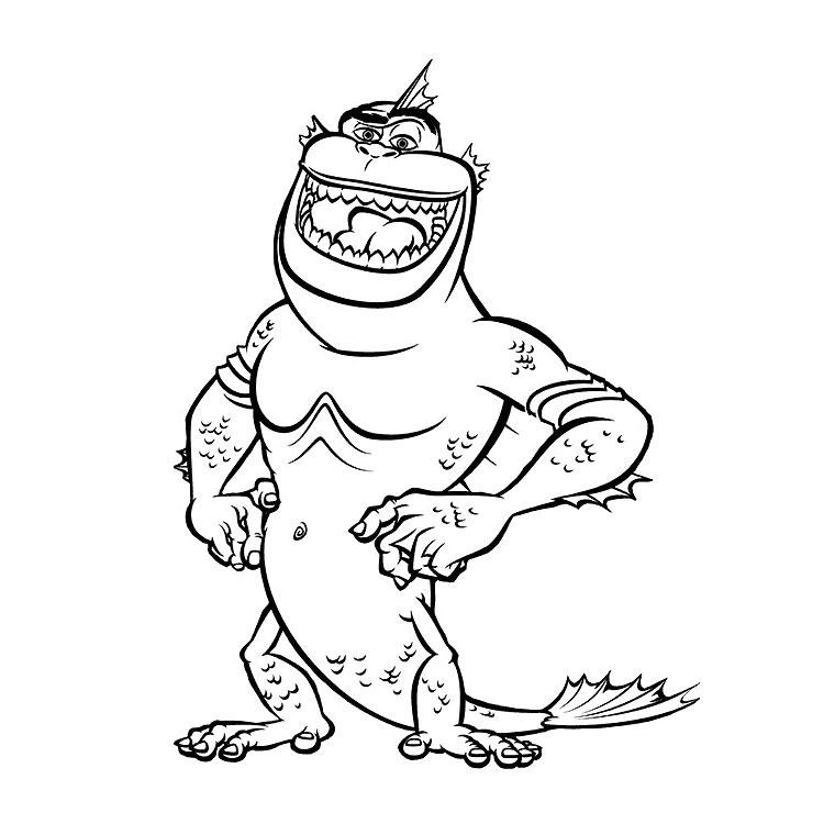 coloriage � dessiner de monstres contre aliens