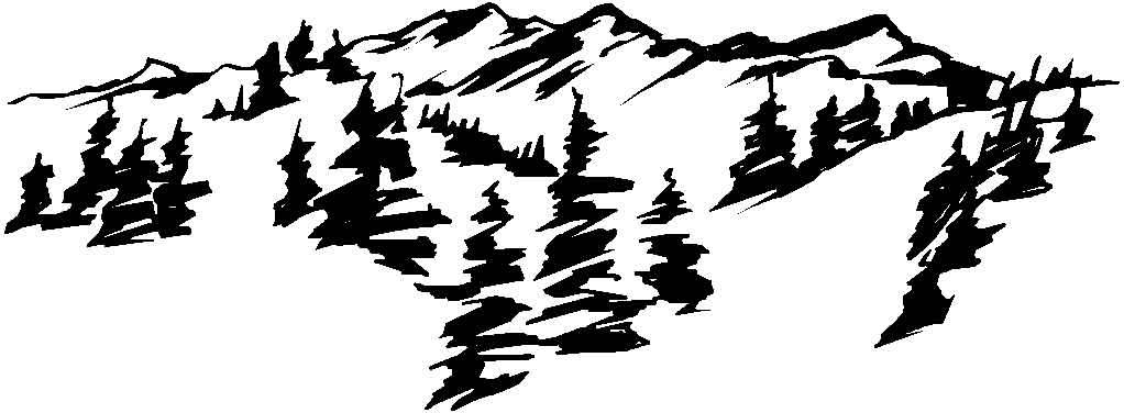 30 dessins de coloriage montagne imprimer - Dessin de chalet de montagne ...