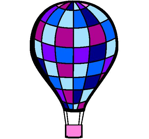 dessin montgolfiere imprimer