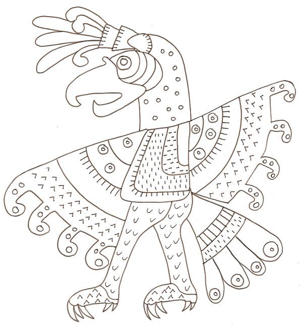 18 dessins de coloriage motif imprimer for Motif dessin