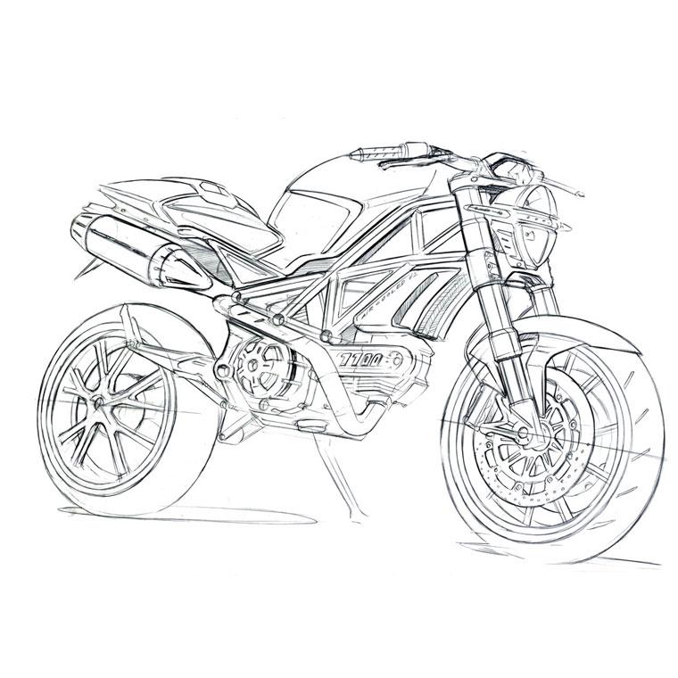 7 dessins de coloriage moto cross gratuit imprimer - Dessin moto a colorier ...