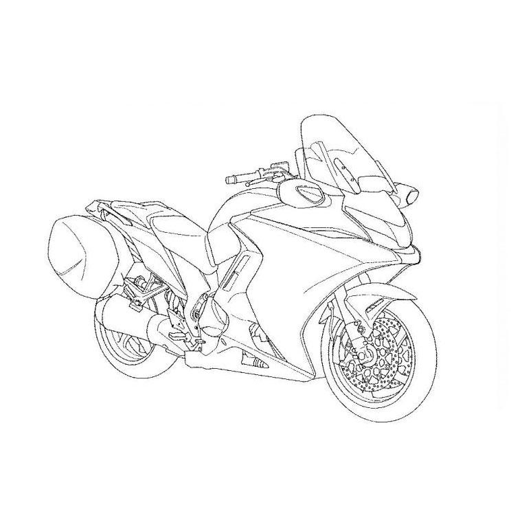 92 dessins de coloriage moto cross imprimer - Dessin a colorier moto kawasaki ...