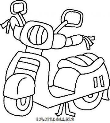 100 dessins de coloriage moto en ligne imprimer - Moto a colorier en ligne ...