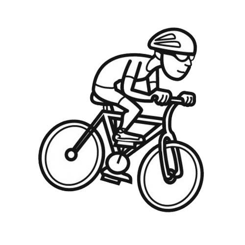98 dessins de coloriage moto facile imprimer - Dessin 4x4 humoristique ...