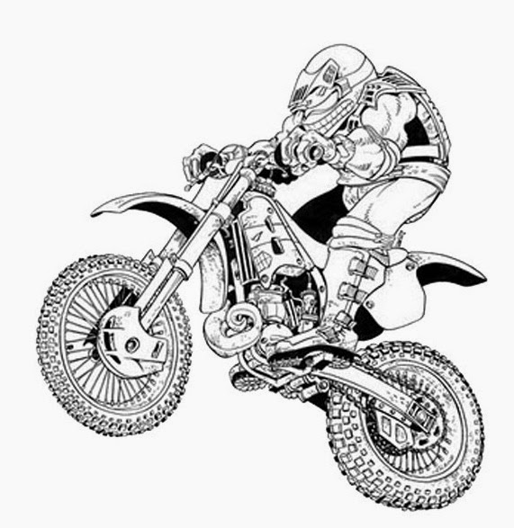 98 dessins de coloriage moto facile imprimer - Photo de spiderman a imprimer gratuit ...