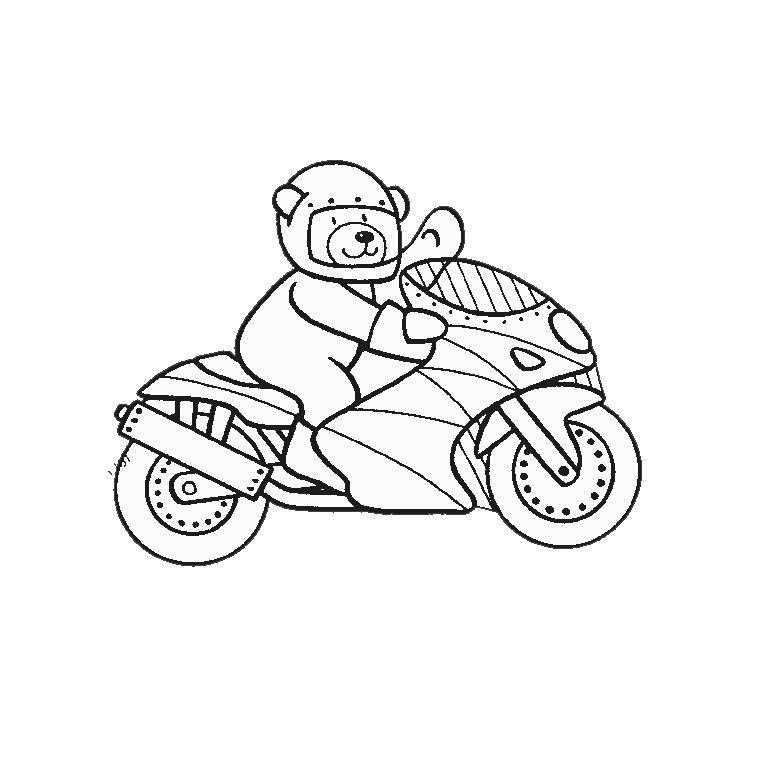 7 dessins de coloriage moto gp imprimer. Black Bedroom Furniture Sets. Home Design Ideas