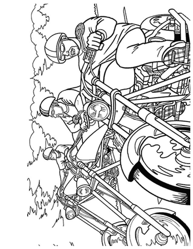92 dessins de coloriage moto ktm imprimer - Dessin moto sportive ...