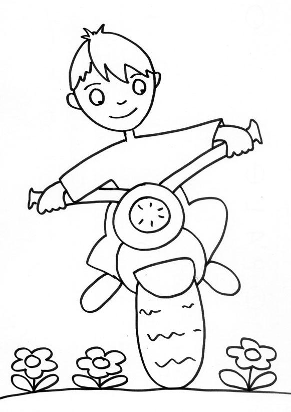 98 dessins de coloriage moto police imprimer - Dessin moto a colorier ...