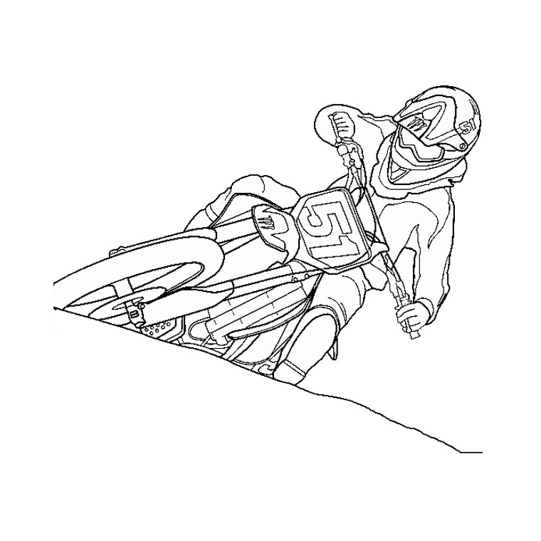 98 dessins de coloriage moto police imprimer - Dessin a imprimer moto ...