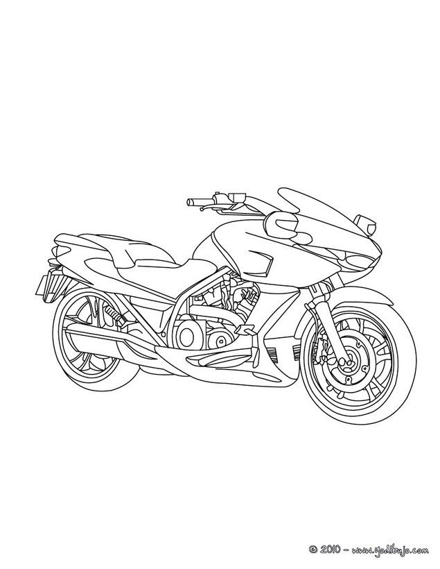 95 dessins de coloriage moto trial  u00e0 imprimer