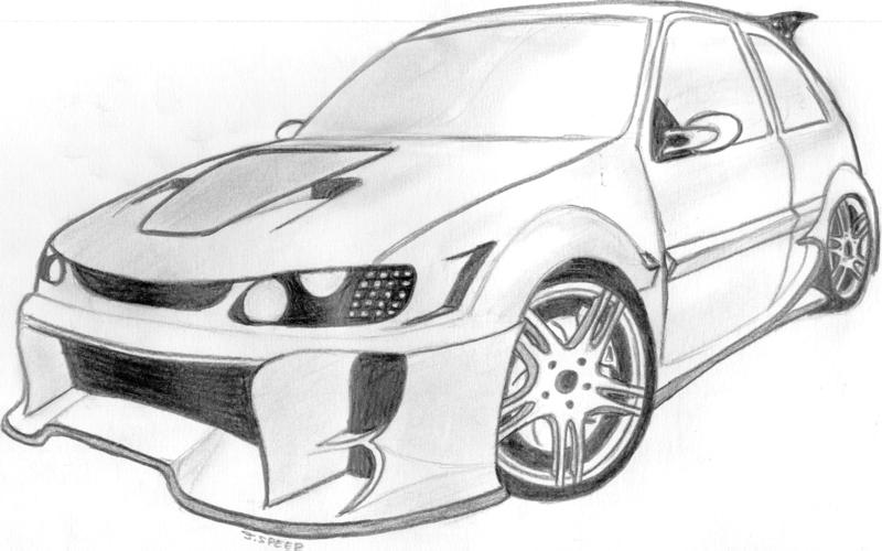 11 dessins de coloriage moto tuning imprimer - Tchoupi en voiture ...