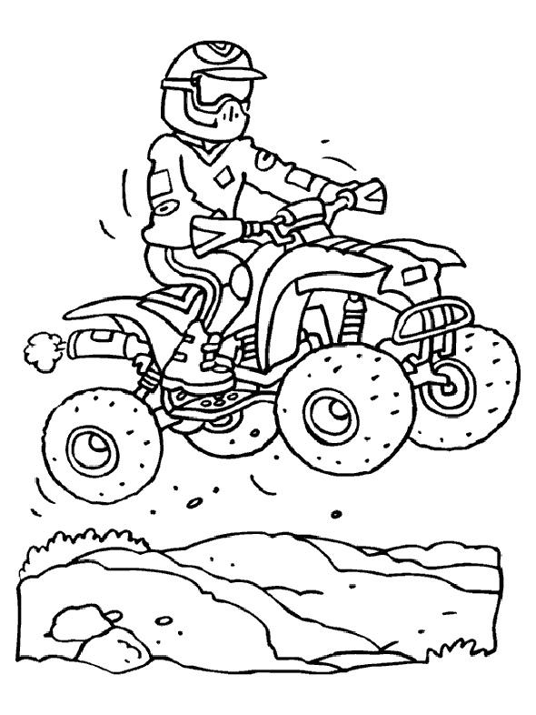 colorier une moto en ligne