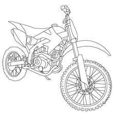 dessin moto 3 roues