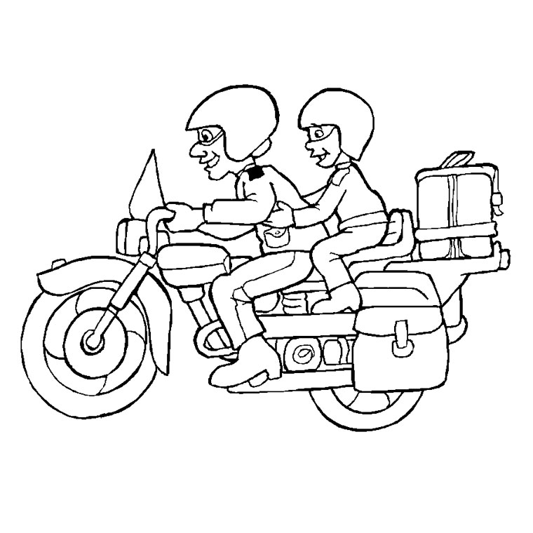 dessin moto power rangers