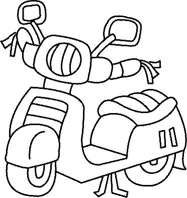 Dessin Moto Facile