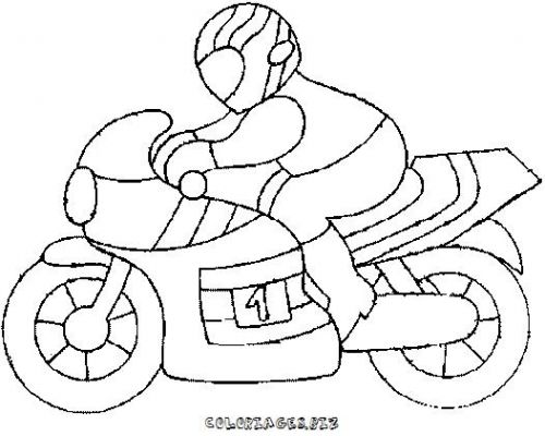 113 dessins de coloriage moto imprimer - Dessin moto ktm a colorier ...