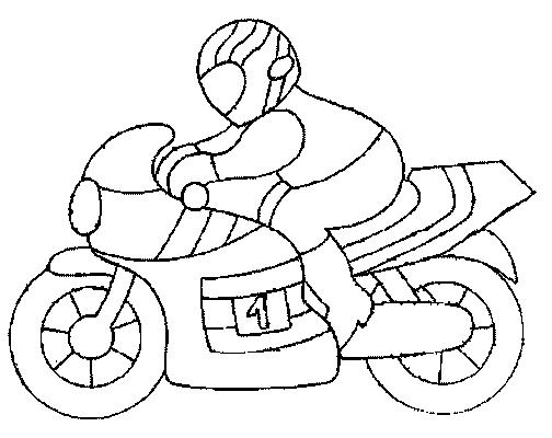 dessin moto de mario