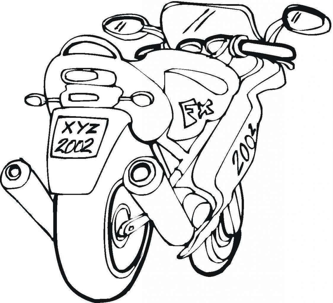 coloriage moto cross ktm