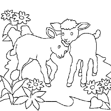 20 dessins de coloriage mouton imprimer imprimer - Mouton dessin ...