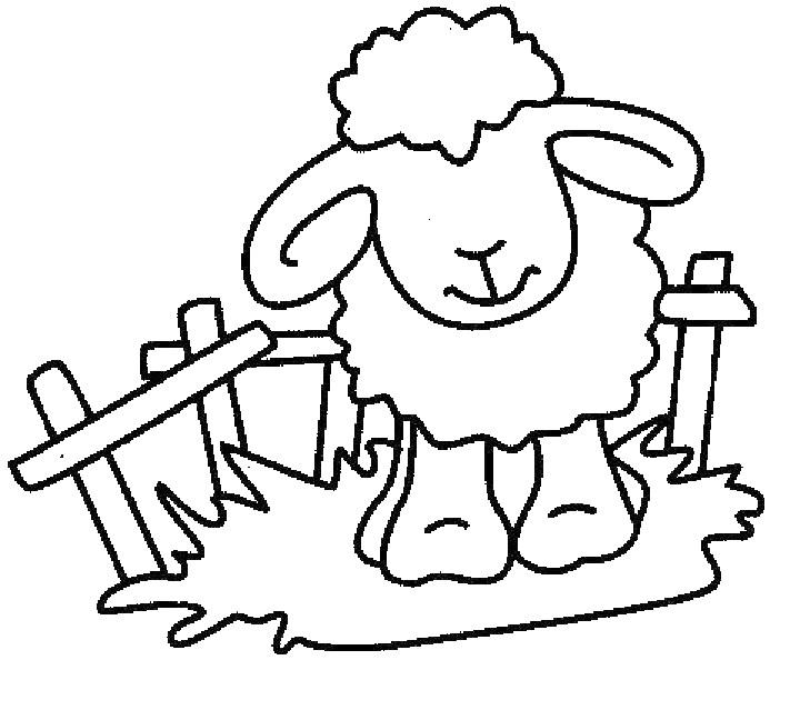 coloriage mouton aid