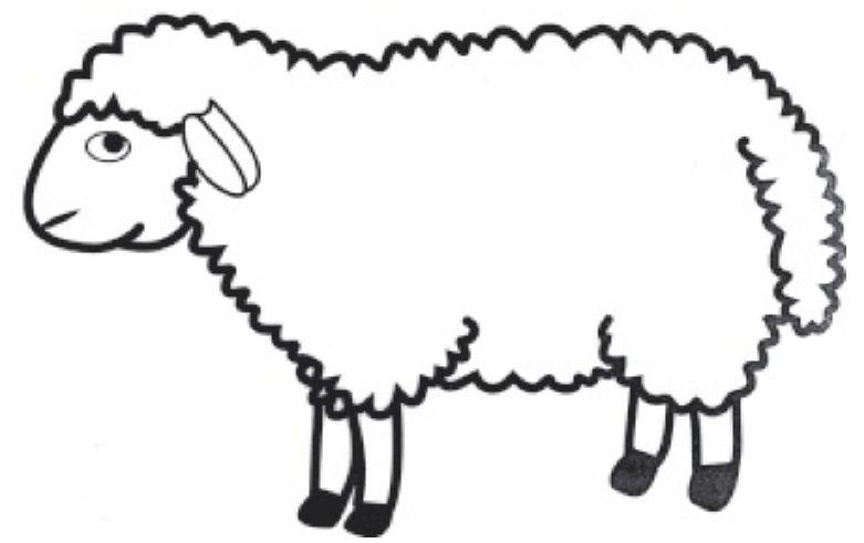 jeux de coloriage à dessiner de mouton gratuit