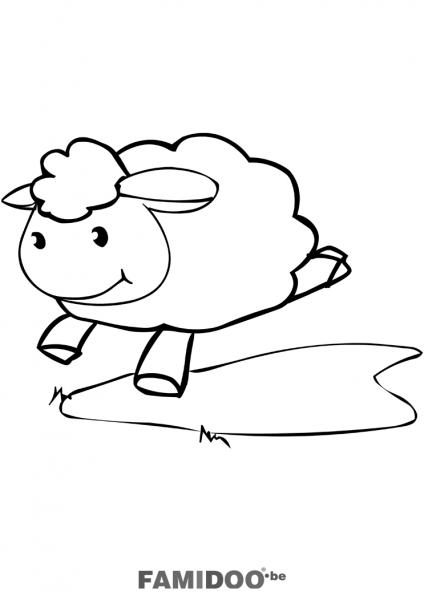 dessin mouton aid