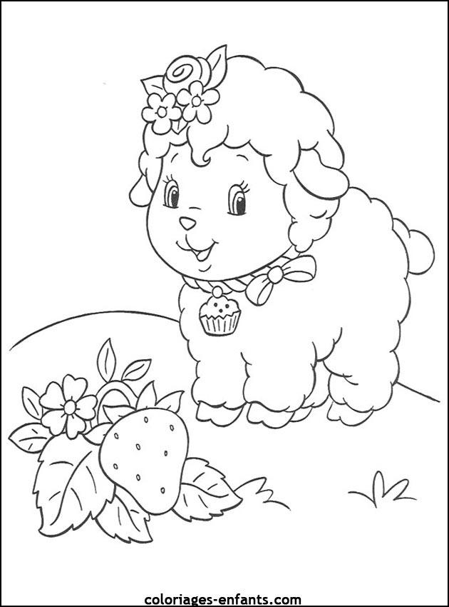 Coloriage dessiner shaun le mouton gratuit - Mouton a dessiner ...