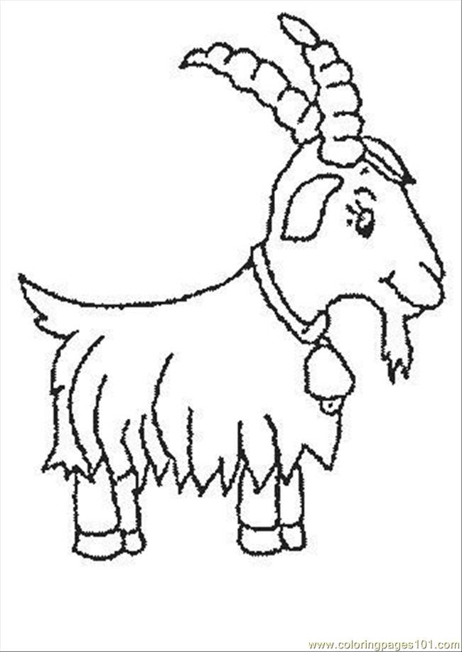 Dessin d 39 un mouton dans une prairie - Mouton dessin ...