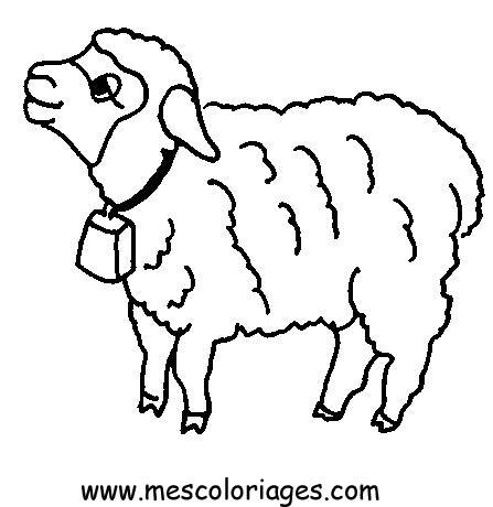 Mouton en dessin colorier - Mouton en dessin ...