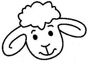 Mouton en coloriage dessiner - Mouton en dessin ...